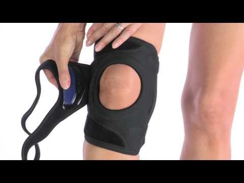 bbcdc9e92e DonJoy Tru-Pull Lite Knee Brace for Patella Alignment - YouTube