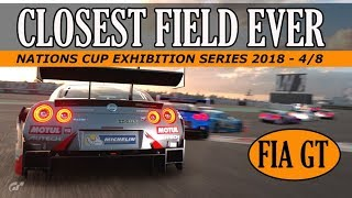 GT Sport Nations Cup - Closest Field Ever - Exhibition Series 2018 4 / 8