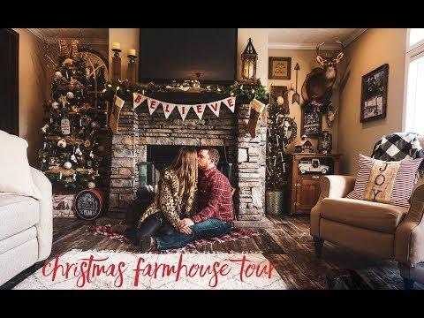 Our Farmhouse Christmas Home Tour 2018