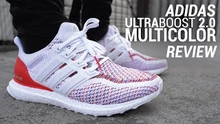 ADIDAS ULTRABOOST 2.0 MULTICOLOR RE-RELEASE REVIEW & ON FEET