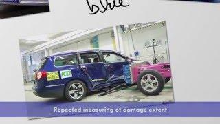 VW Crash Testing: Following Collision Repair Procedures