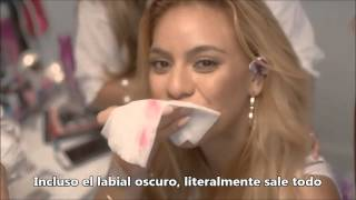 Fifth Harmony's Dinah Jane Feel The Real Makeup Experimenting Tips [SUBTITULADO]