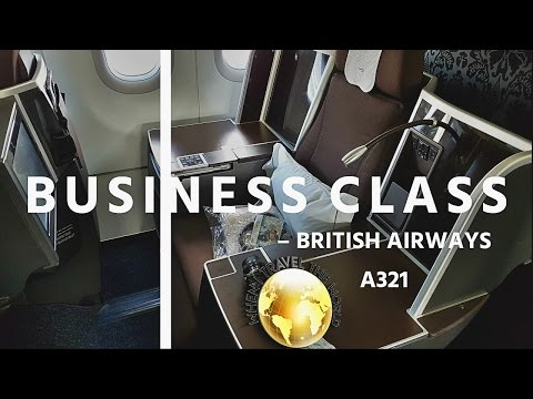 British Airways Mission to Moscow|LHR-DME|BUSINESS|A321