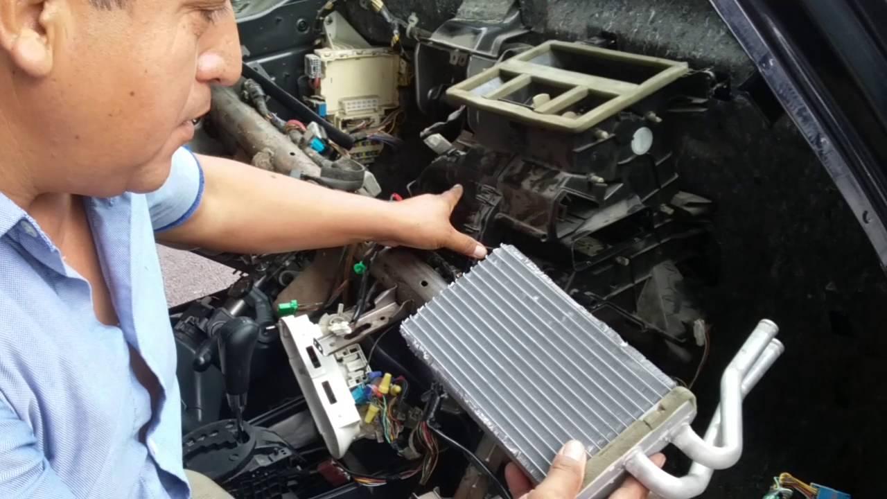 cambiar radiador de calefacci n de suzuki sx4 2008 youtube