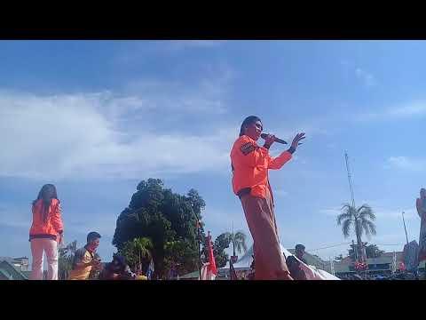 Evi Masamba dan Windi Idol Pukao Masyarakat Palopo