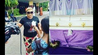 Sad Mr LatinDele oduleAyo Adesanya At Late Yoruba Actor Baba No RegretAjimajasan39s Artist Night