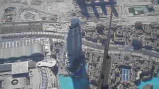 On Top of the Burj Khalifa in HD (Burj Dubai)