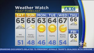 CBS 2 Weekend Weather Watch 10-5-2019