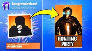 HUNTING PARTY SKIN COMING in FORTNITE SEASON 6 - SECRET SKIN REVEALED Fortnite Battle Royale WEEK 7