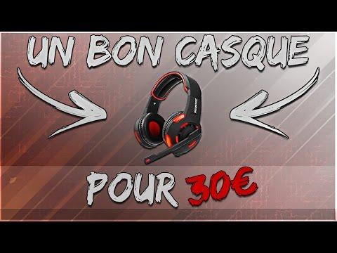 [FR] UN CASQUE GAMER POUR 30€! ARINO GM990 - Hardware FR