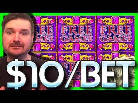 *** HIGH LIMIT *** LIVE PLAY on Davinci Diamonds Slot Machine with Bonus