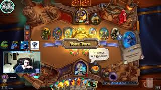 The WILDEST OTK COMBO!.. | Hearthstone Funny Daily Moments ep.245