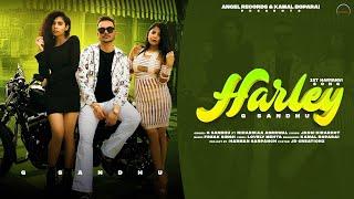 Harley   G Sandhu Ft Niharikaa Agarwal   New Haryanvi Songs Haryanvi 2021   Angel Records