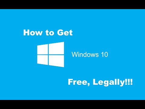 How to get Windows 10 for FREE: Legally!!!