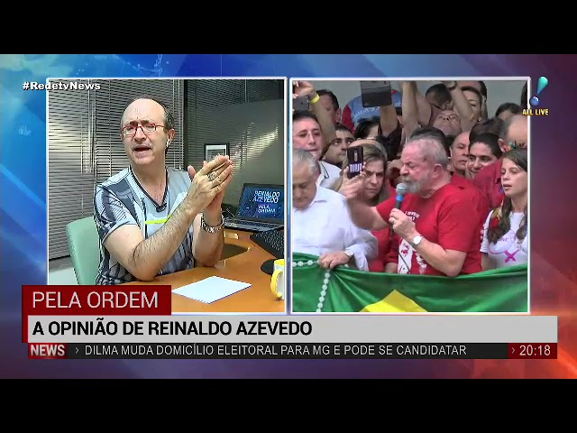 """Se busca construir a figura do mártir"", analisa Reinaldo Azevedo"