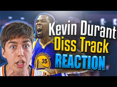 "REACTING to Lostnubound ""KEVIN IS A SNAKE"" (KEVIN DURANT DISS TRACK) OFFICIAL MUSIC VIDEO!"