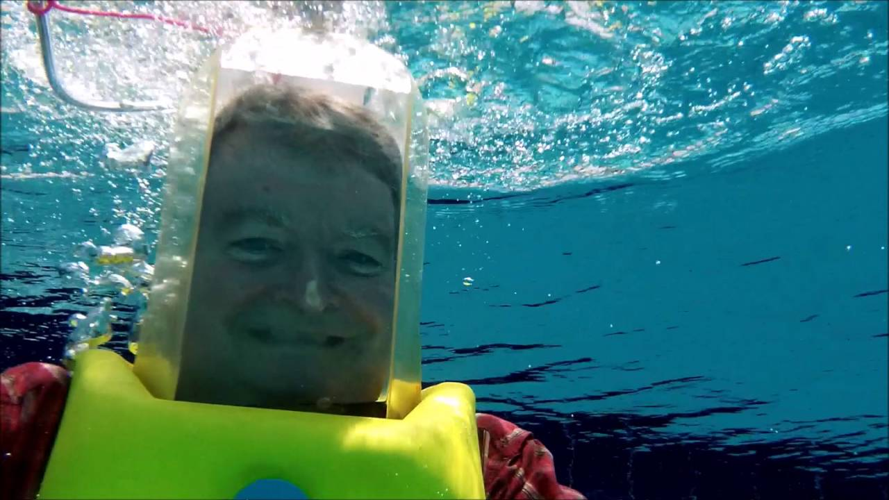 Testing My 1976 Aqua Bell Dive Helmet In A Pool Youtube