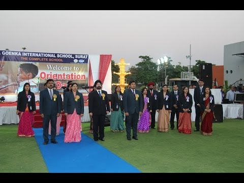 G D Goenka International School-Surat, 4th Orientation Day 28 03 14