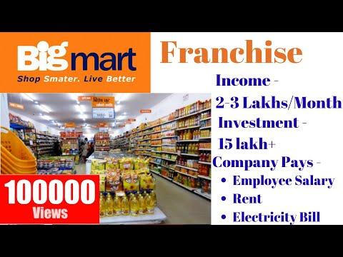 Big Mart Grocery Store Franchise   Big Mart Franchise Cost
