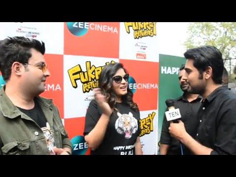 Varun Sharma & Richa Chadha Celebrate Tiger 'Bijli's' Birthday at Delhi Zoo | Fukrey Returns Movie