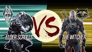 Elder Scrolls VS The Witcher