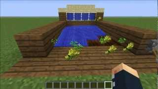 видео Minecraft How to Make: Wheat and Bread