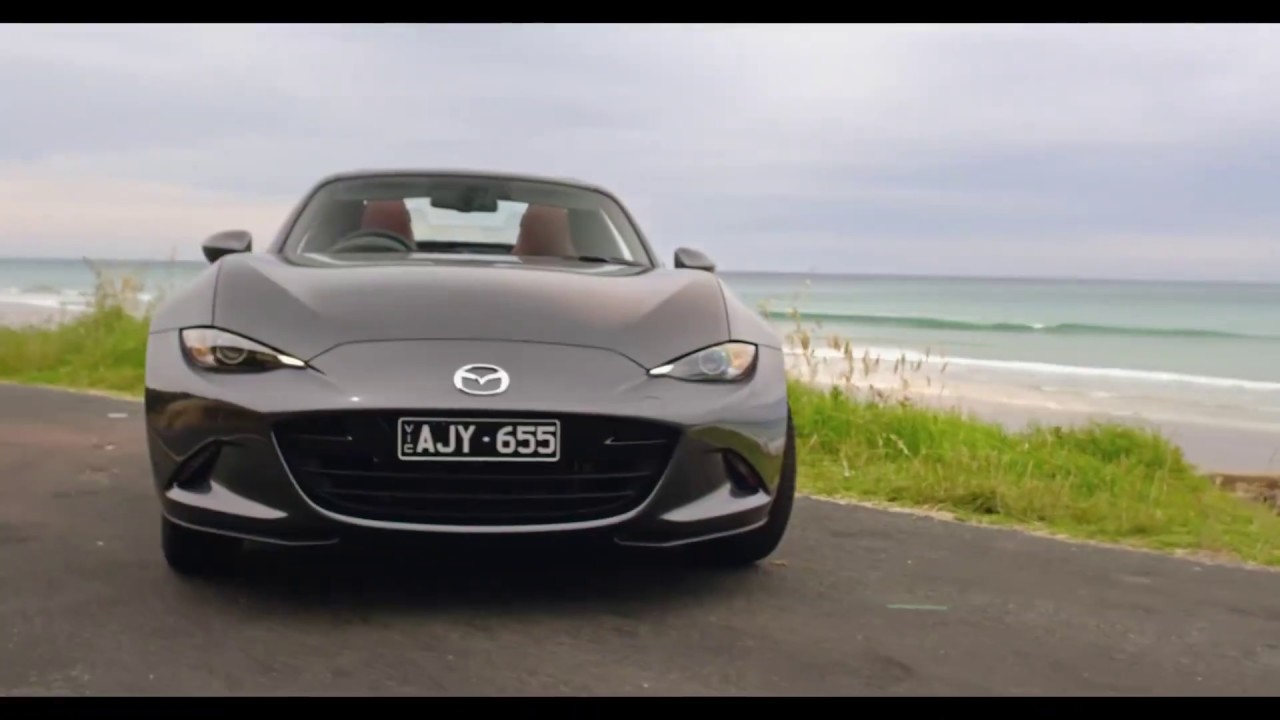 Why a Mazda MX5 RF is a near perfect car, including cutaway view of ROOF in motion. ROAD TEST