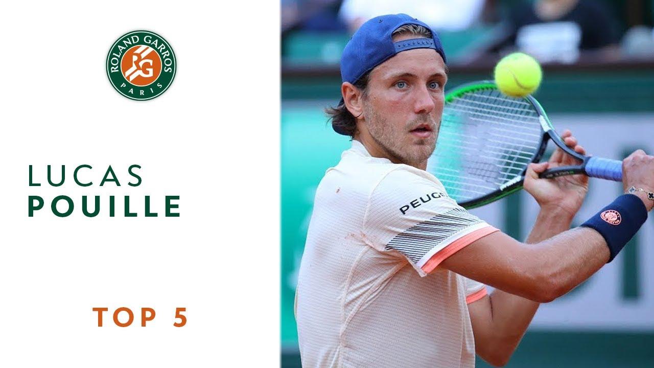 Lucas Pouille - TOP 5 | Roland Garros 2018