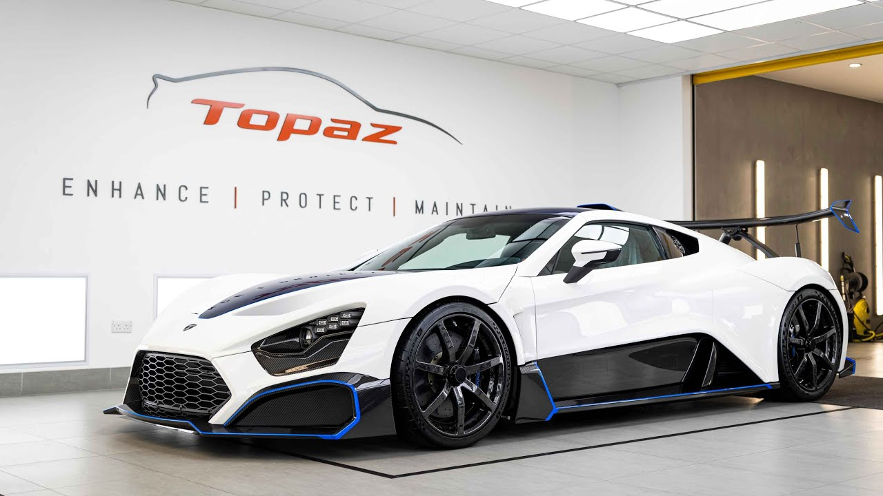 Paint Protecting the 1200bhp Zenvo TSR-S Hypercar!
