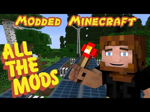 Modded Minecraft: ALL THE MODS! - Ep.7 - Smelting Factory!