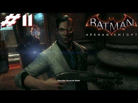Batman Arkham Knight PS4 Gameplay #11: Two-Face Bank Heist [Final Winner Announced]