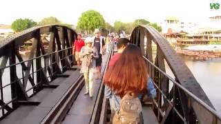 The Bridge on the River Kwai in Thailand / Мост через реку Квай в Тайланде