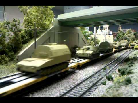 Springfield Illinois Model Railroad Club military train