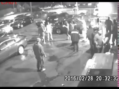 CAUGHT ON CAMERA: Penthouse Lounge in Detroit Non-Fatal Shooting Feb 28 2016