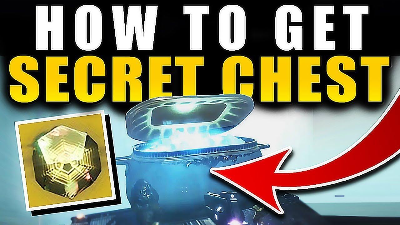Destiny 2 - HOW TO GET SECRET RAID CHEST FREE EXOTIC (Spire of Stars Raid) !!