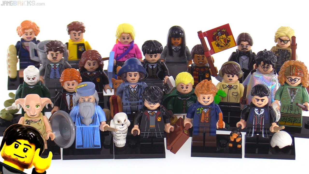 Lego Harry Potter Fantastic Beasts Minifigures Review Set Of 22 Youtube