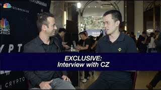 EXCLUSIVE: CZ BINANCE INTERVIEW- Taiwan Blockchain week!