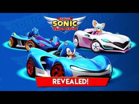Sonic Racing - Sonic And Metal Sonic In A Team Wisp Forest Maps | Apple Aracade