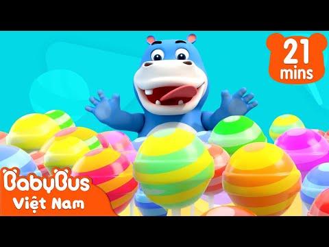 Tiệm kẹo ngon gấu trúc   Một ngày làm nhân viên bán kẹo   Nhạc thiếun nhi vui nhộn   BabyBus