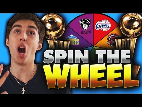 SPIN THE WHEEL OF NBA TEAMS WITHOUT A RING! NBA 2K17 SQUAD BUILDER