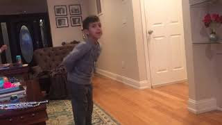 Zain dancing Kidz Bop Kids How Long