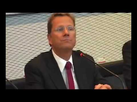 Ridiculous English Skills of the new German Minister of Foreign Affairs Westerwelle
