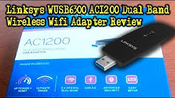 Linksys WUSB6300 AC1200 Dual Band Wireless Wifi Adapter Review