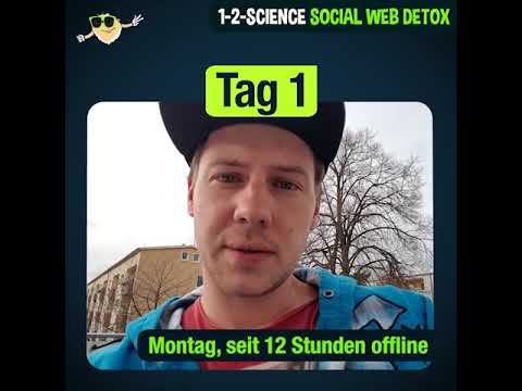 1-2-SCIENCE Social Web Detox Tag 1: Matthias unplugged