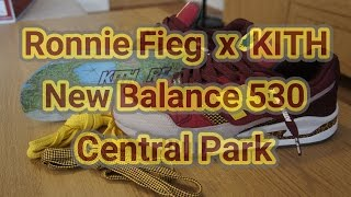 "Ronnie Fieg x KITH x New Balance 530 ""Central Park"" 