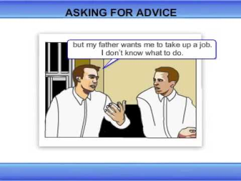 Example Of Asking And Giving Advice Suggestion Youtube