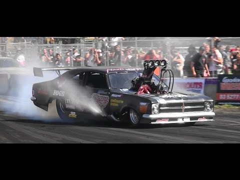 8000 HORSEPOWER BURNOUT TEAM GRAY HK MONARO TREAD CEMETERY 2 LARDNER PARK