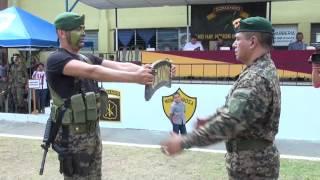13 marzo 2014 clausura de curso comando de montana n 33