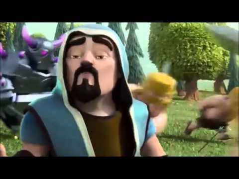 CLASH OF CLANS -- wizards true story..Really Funny