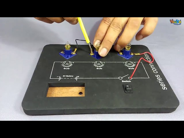 Circuit Testing Board Electrical series connection II YouDo Videos